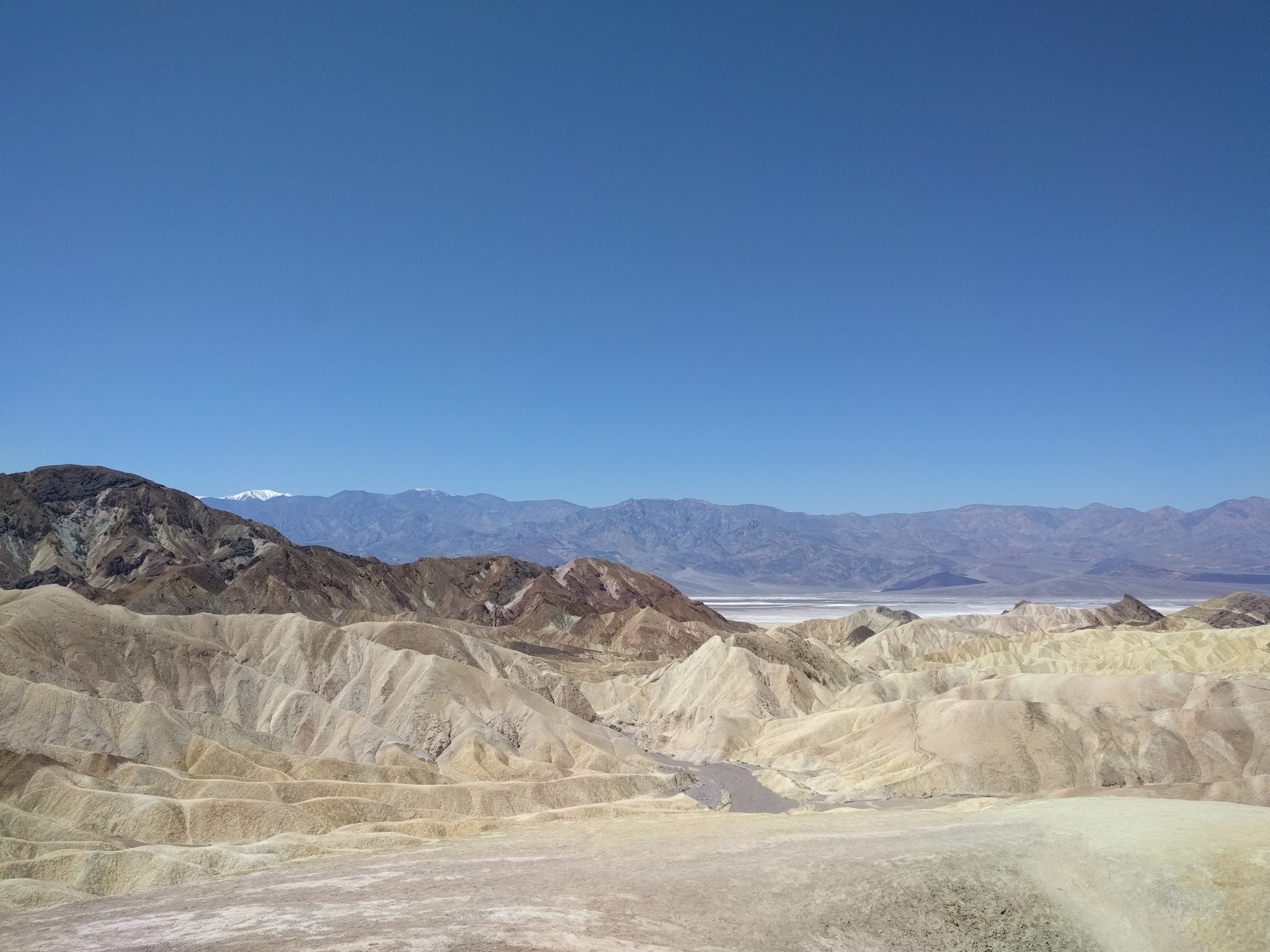 Death Valley, Unexpected.